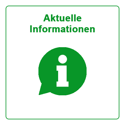 Aktuelle Informationen Button