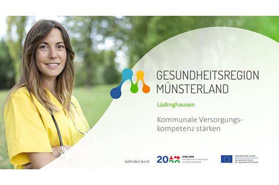 Gesundheitsregion Münsterland: Lüdinghausen wird Modellkommune