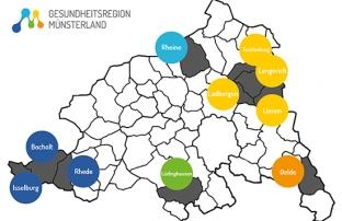 Gesundheitsregion Münsterland Modellkommunen
